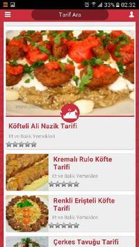 Yemeğin Tarifi apk screenshot