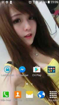 Virtual GirlFriend Wallpaper apk screenshot