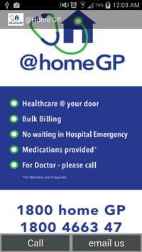 @home GP - Healthcare @ur door poster