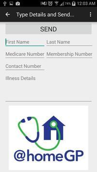 @home GP - Healthcare @ur door apk screenshot