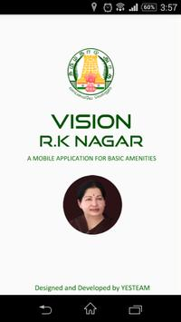 Vision RK Nagar poster