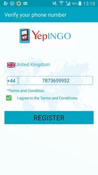 YepINGO UK poster