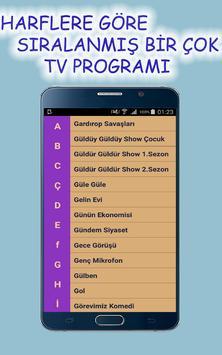 Yerli Tv Programları İzle apk screenshot