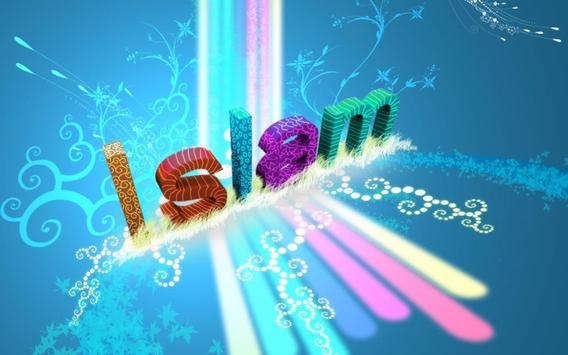 Galaxy S6 Islamic Style HD poster