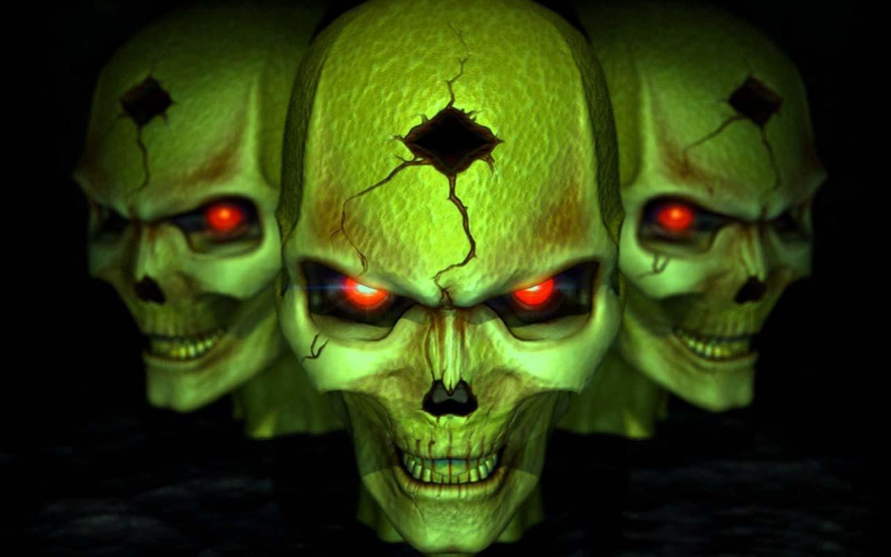 3d Horror Skull Hd Wallpapers For Android Apk Download