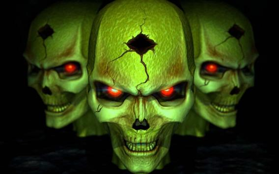 3d horror skull hd wallpapers apk download free personalization 3d horror skull hd wallpapers poster voltagebd Image collections