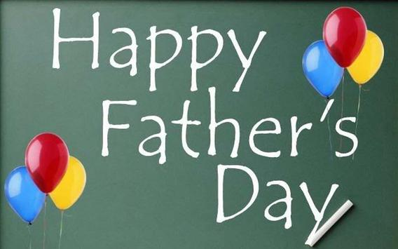 Wishes for Fathers Day poster