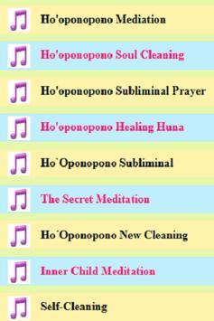 Ho'oponopono Healing Mantras screenshot 1