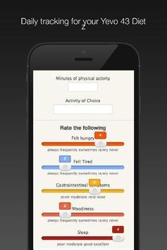 Yevo 43 for Weight Management apk screenshot