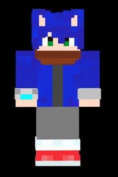 SKIN SONIC For MCPE For Android APK Download - Skin para minecraft pe