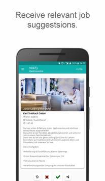 hokify job app jobsuche bewerbung f r jobs apk download gratis bisnis apl untuk android. Black Bedroom Furniture Sets. Home Design Ideas