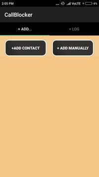 Call Blocker(Blacklist) apk screenshot