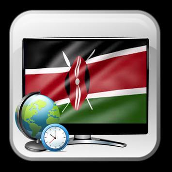 Time show TV Kenya guide poster