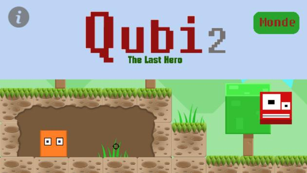 Qubi 2 : The Last Hero (Alpha) poster