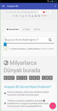 Arayanı Bil screenshot 1