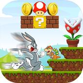 Super Bugs Smash Bunny Run👍😈 icon