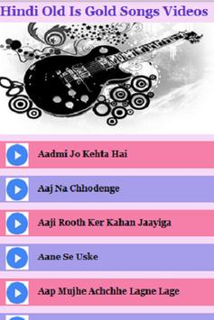 Hindi Old is Gold Songs Videos apk screenshot