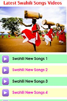 Latest Swahili Songs Videos screenshot 2