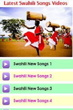 Latest Swahili Songs Videos screenshot 6