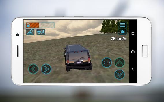 4x4 Offroad Jeep Driver Sim 3D screenshot 2