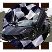 Extreme Super Car City Race 3D icon