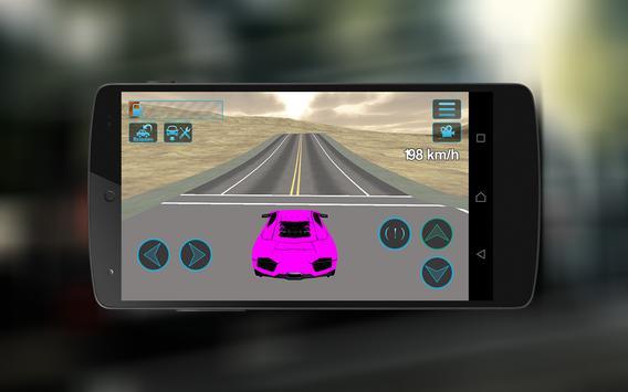 Extreme Super Car City Race 3D screenshot 9