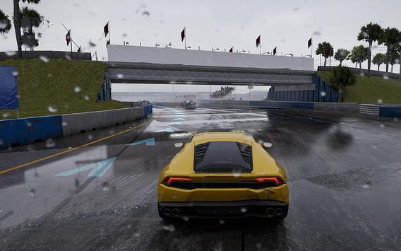 Extreme Super Car City Race 3D poster