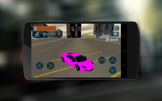 Extreme Super Car City Race 3D screenshot 12