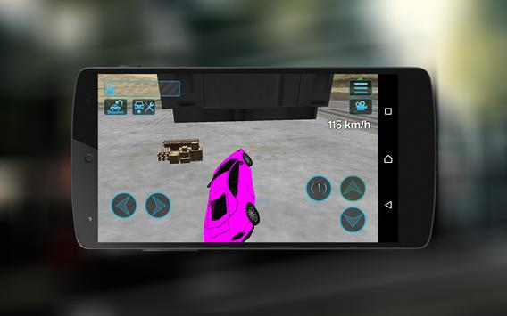 Extreme Super Car City Race 3D screenshot 3