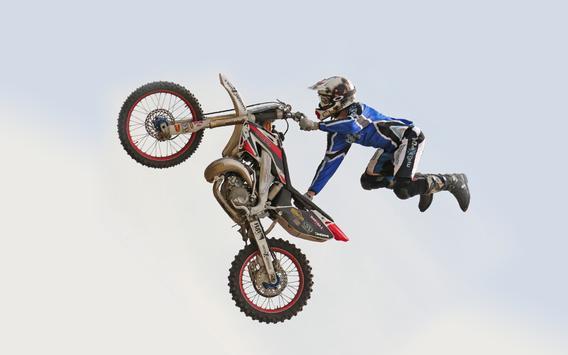 Extreme Stunt MotorBike Ride3D poster