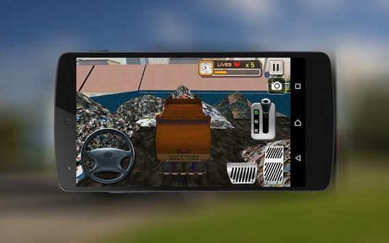 🚛City Garbage Truck Driver 3D apk screenshot