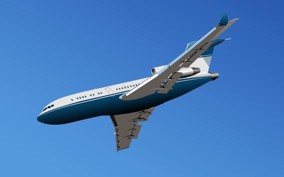 ✈️️Fly Airplane Flight Sim 3D! screenshot 9