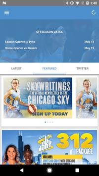 Chicago Sky poster