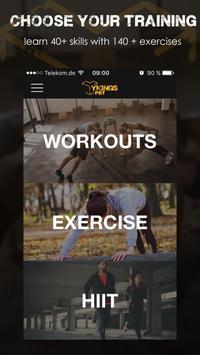 Ykings Calisthenics Workouts poster