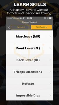 Ykings Calisthenics Workouts screenshot 1