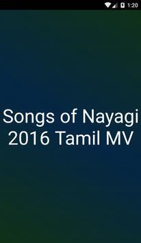 Songs of Nayagi 2016 Tamil MV poster