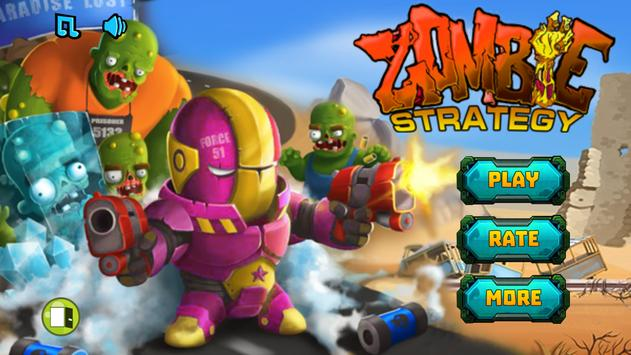 Zombie Strategy Survival Game poster