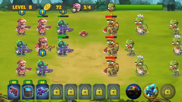 Zombie Strategy Survival Game screenshot 11