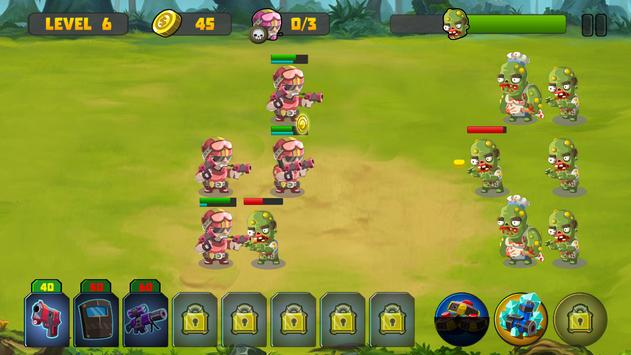 Zombie Strategy Survival Game screenshot 1