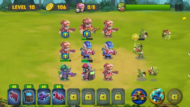 Zombie Strategy Survival Game screenshot 22