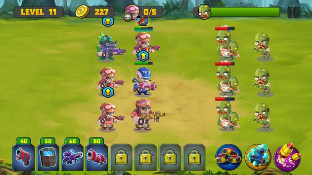 Zombie Strategy Survival Game screenshot 23