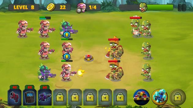 Zombie Strategy Survival Game screenshot 2