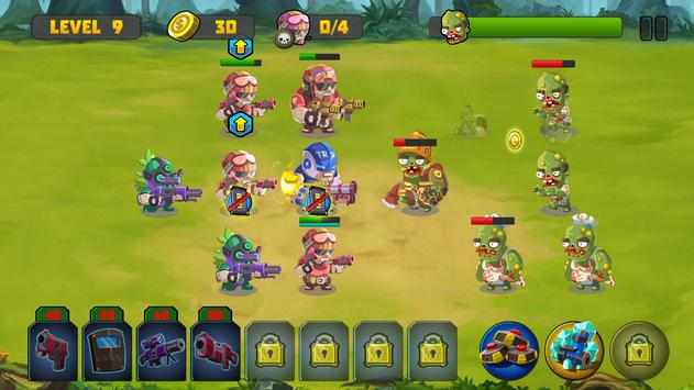 Zombie Strategy Survival Game screenshot 5