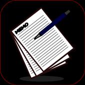 メモってコピー&検索 簡単操作のメモ帳アプリ icon
