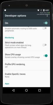 Shortcut for Enable & Disable Developer Options screenshot 21
