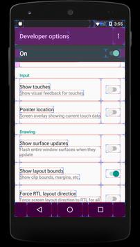Shortcut for Enable & Disable Developer Options screenshot 4