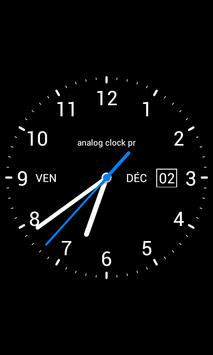 Analog Clock Widget: Free screenshot 1