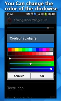 Analog Clock Widget: Free screenshot 4