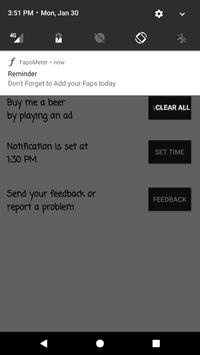 FapoMeter: Fap counter screenshot 3