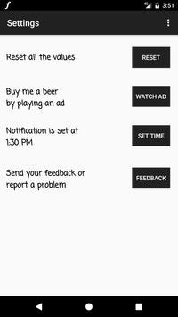 FapoMeter: Fap counter screenshot 2